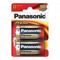 Αλκαλική Μπαταρία Panasonic Pro Power D 1.5V